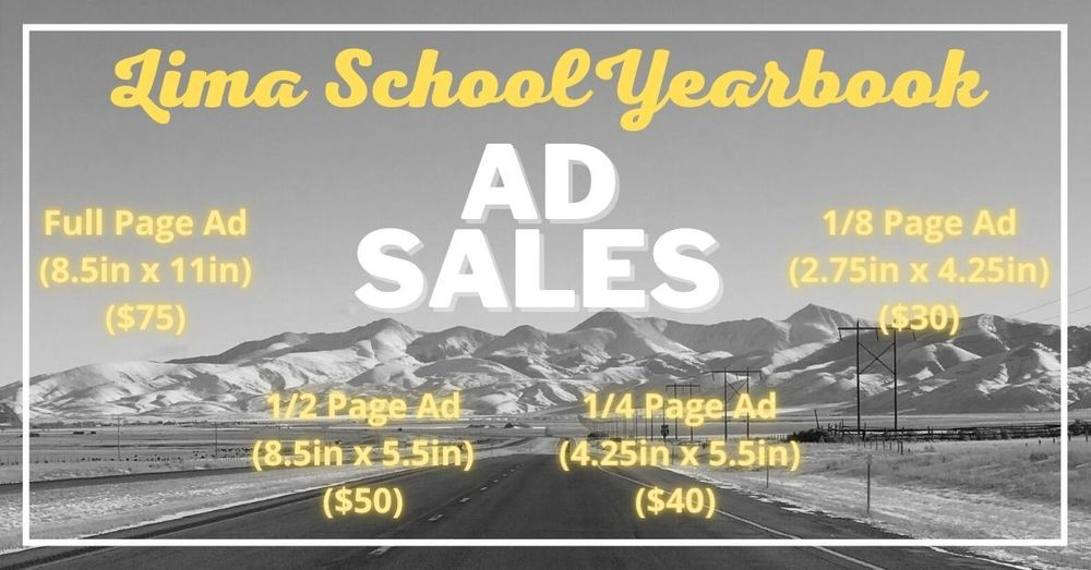 2021 Yearbook Ad Sales