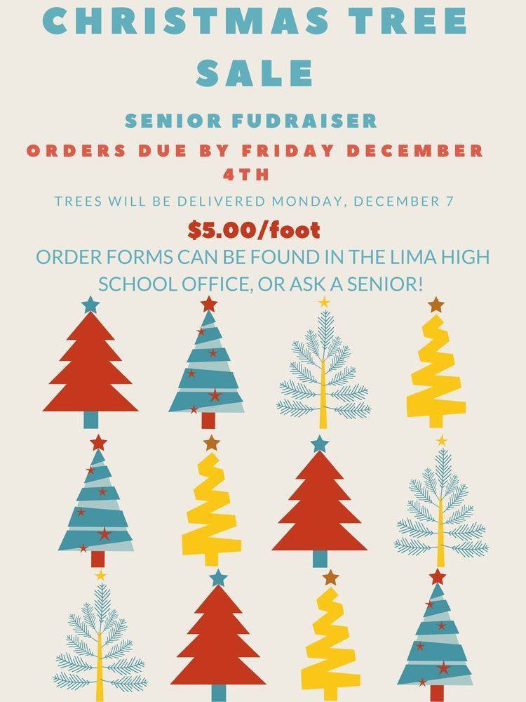 Senior Class Christmas Tree Fundraiser