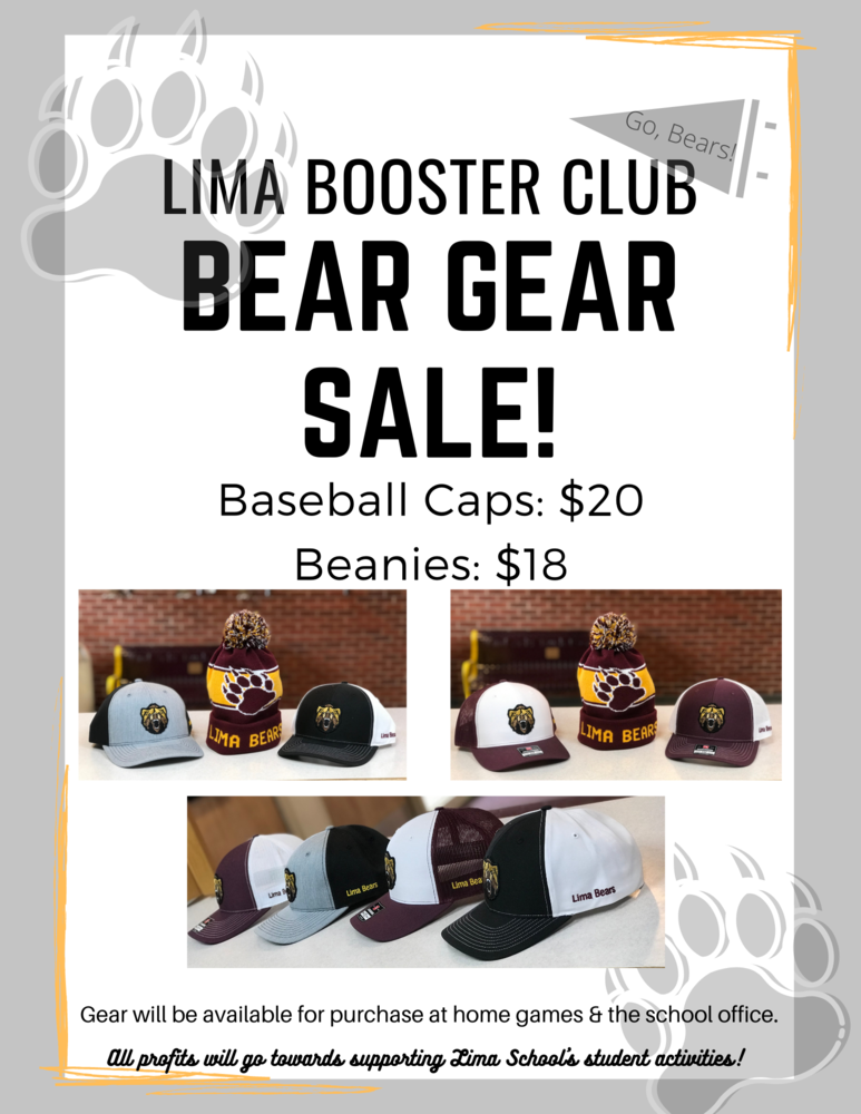 Lima Bear Gear Sale!